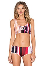 HAUT DE MAILLOT DE BAIN STRIPED ECLIPSE