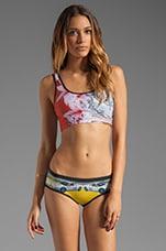 Miami Streets Tank Bikini in Multi