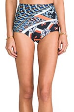 Cuban Tile Bathing Suit Bottom in Multi