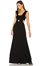 Clayton Michelle Dress in Black
