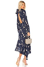 Clayton Brig Dress in Navy Tulip