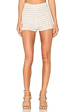 Gingham Pier Short in Gingham