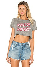 T-SHIRT CROPPED TEEN HEAT