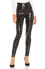 Commando Sequin Leggings in Black