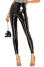 Commando Perfect Control Patent Leather Legging in Black