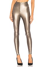 Commando Perfect Control Faux Leather Legging in Bronze