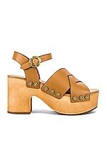 Coach 1941 Nessa Clog Sandal in Camel