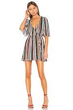 Camila Coelho Violetta Dress in Multi Stripe