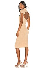 Camila Coelho Soire Knit Dress in Natural