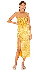 Camila Coelho Lucia Dress in Golden Yellow