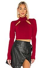Camila Coelho Elisha Sweater in Red