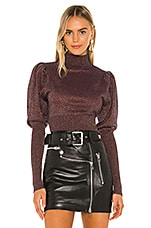 Camila Coelho Darin Sweater in Bronze