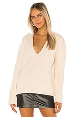 Camila Coelho Wren Sweater in Cream