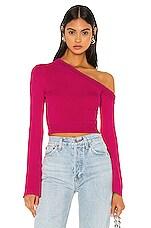 Camila Coelho Rosalyn Sweater in Magenta