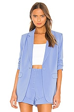 Camila Coelho Arielle Blazer in Periwinkle Blue