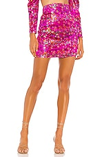Camila Coelho Rosana High Waisted Skirt in Multi Floral
