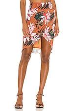 Camila Coelho Winema Skirt in Floral Tropics