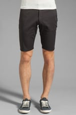 Castaway Chino Short in Black