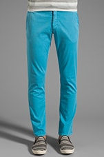 Casper Chino Pant in Turquoise