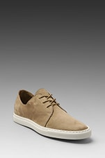 Rec in Nubuck in Olive Grey