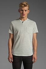 Dorsey Tee in Grey Stripe