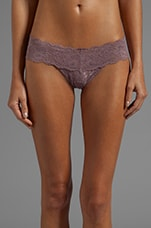 Never Say Never LR Hot Pant in Dusty Mauve
