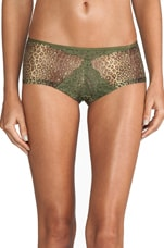 Elise Printed Hot Pant in Cypress