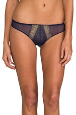 Cleope Brazilian Minikini in Navy/Gold
