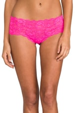 Hottie LR Hot Pant in Fluo Pink