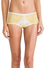 Elise LR Hot Pant in Frosty Lilac & Neon Green