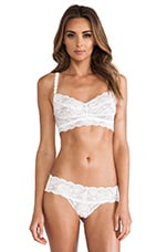 Never Say Never Sweetie Soft Bra in White