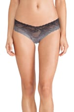 Trenta Ombre LR Thong in Black & Dove Grey