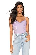 Cosabella x REVOLVE Underwire Bodysuit in Lavender