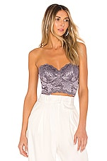 Cosabella Ballet Bustier in Castle Rock