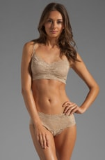 Never Say Never Sweetie Soft Bra in Warm Taupe
