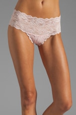 Never Say Never Hottie Hotpant in Pink Lily