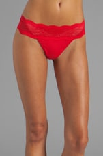 Dolce Thong in Poinsettia