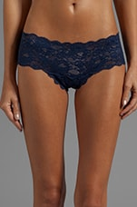 Never Say Never Cutie LR Thong in Navy Blue