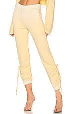 COTTON CITIZEN The Brooklyn Sweatpant in Vintage Daffodil