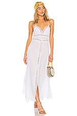 Charo Ruiz Ibiza Imagen Dress in White