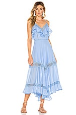Charo Ruiz Ibiza Sabine Dress in Blue