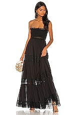 Charo Ruiz Ibiza Zoe Dress in Black