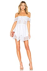 Charo Ruiz Vaiana Dress in White