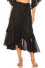 Charo Ruiz Ibiza Donna Skirt in Black