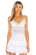 Charo Ruiz Ibiza Dana Top in White