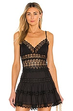 Charo Ruiz Ibiza Dana Top in Black