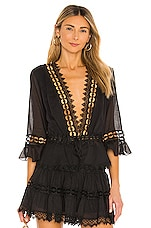 Charo Ruiz Ibiza Edda Top in Black