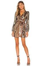 Cynthia Rowley Mini Dress in Mocha