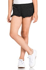 Triblend Short in Black