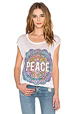 T-SHIRT PEACE MANDALA